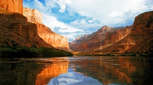 Rio Colorado, Arizona, Parque Nacional do Grand Canyon, EUA.