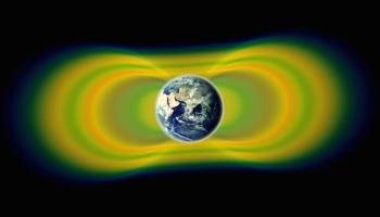 Resultado de imagem para As sondas espaciais da NASA detectaram uma barreira feita pelo homem circundando a Terra