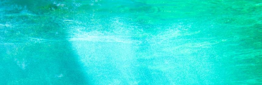 Underwater texture with sunshine