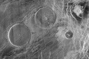 vulcões em vênus
