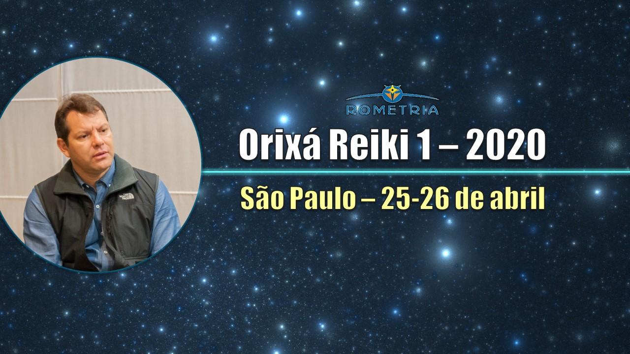 MÓDULO ORIXÁ REIKI I EM SÃO PAULO – ABRIL 2020