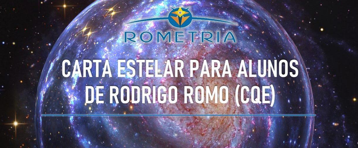 CARTA ESTELAR COM RODRIGO ROMO